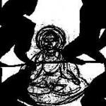 Milarepa dessin A.Rousseaupoulos